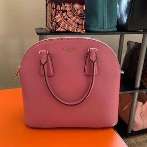 Kate Spade Sylvia Large Dome Satchel Blustery Pink